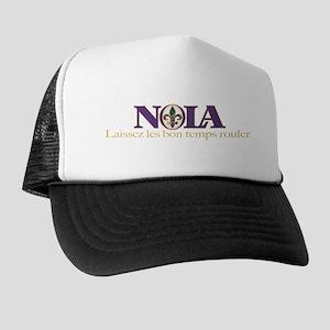 NOLA Mardi Gras Trucker Hat