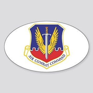 USAF Air Combat Command Oval Sticker