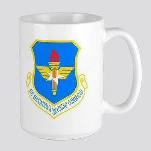 USAF Education & Training Command Large Mug