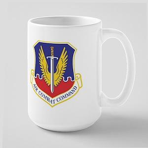 USAF Air Combat Command Large Mug