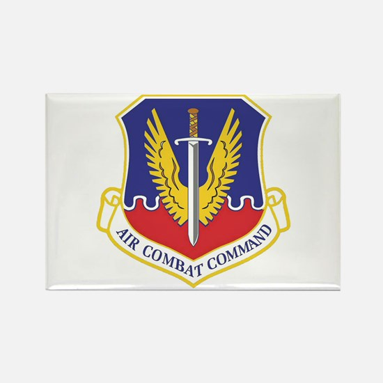 USAF Air Combat Command Rectangle Magnet