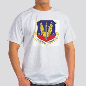 USAF Air Combat Command Ash Grey T-Shirt