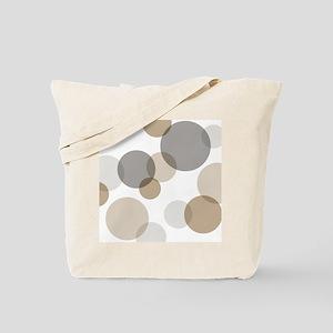 Mono Spots & Dots Tote Bag
