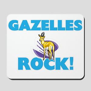 Gazelles rock! Mousepad