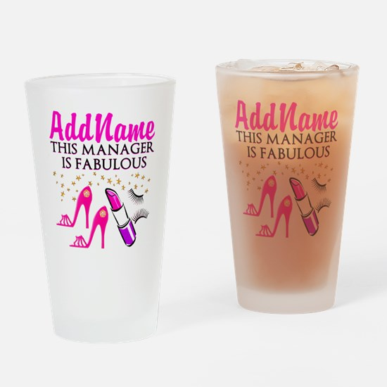 PERSONALIZE MANAGER Drinking Glass