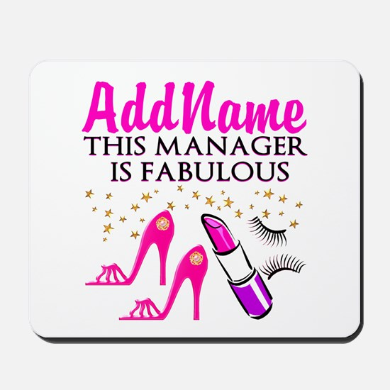 PERSONALIZE MANAGER Mousepad