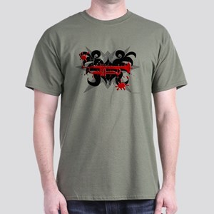 Trumpet Splat Dark T-Shirt