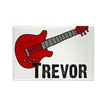 Guitar - Trevor Rectangle Magnet