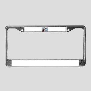 Sheltie Holiday License Plate Frame