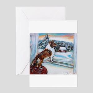 Sheltie Holiday Greeting Cards