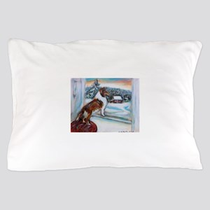 Sheltie Holiday Pillow Case