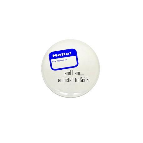 SciFi Addict Mini Button