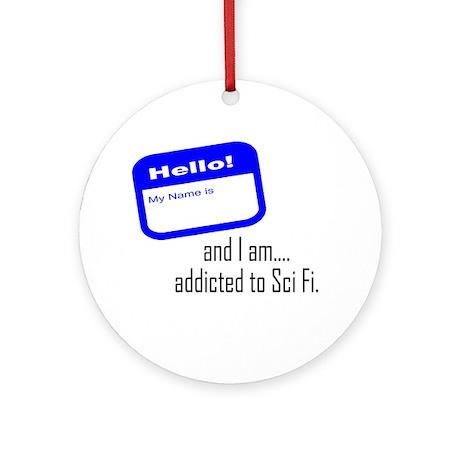 SciFi Addict Ornament (Round)