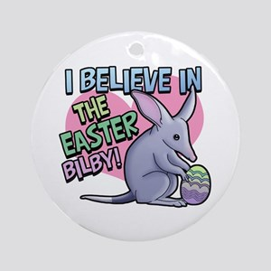 Believe Easter Bilby Ornament (Round)