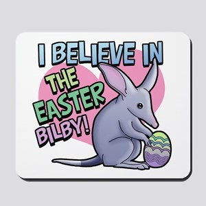 Believe Easter Bilby Mousepad