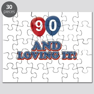 90 years and loving it Puzzle