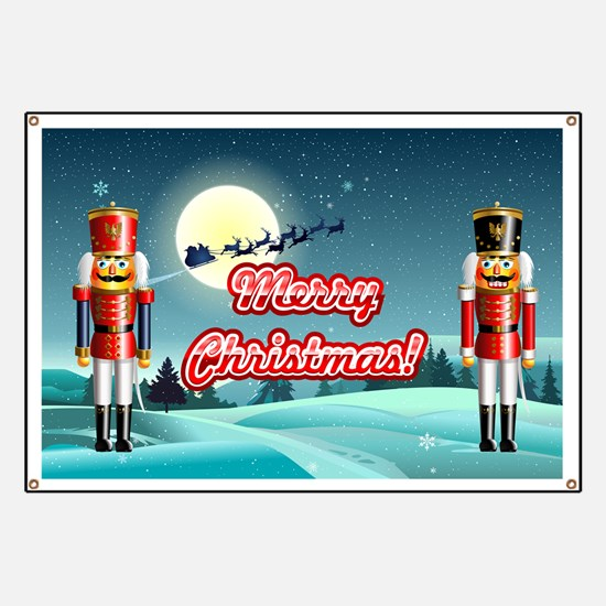 Nutty Nutcrackers Banner
