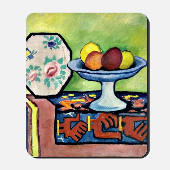 August Macke - Still Life with Bowl of A Mousepad