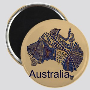 Customizable Australia Souvenir Decorative Map Mag