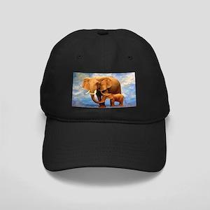 Elephant Mother Black Cap