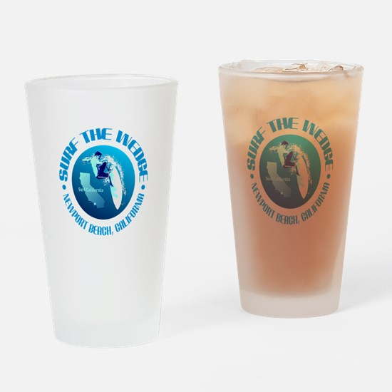 The Wedge Drinking Glass