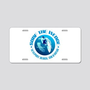 The Wedge Aluminum License Plate