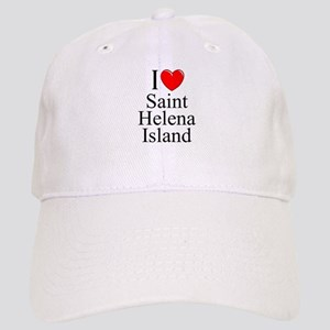 """I Love Saint Helena Island"" Cap"