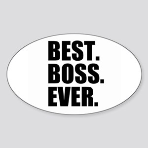 Best Boss Ever Sticker