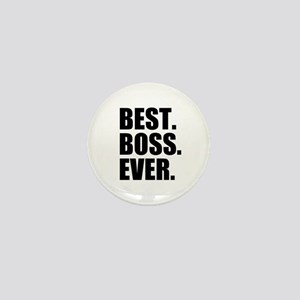 Best Boss Ever Mini Button