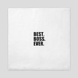 Best Boss Ever Queen Duvet