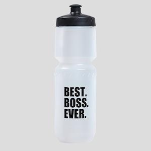 Best Boss Ever Sports Bottle