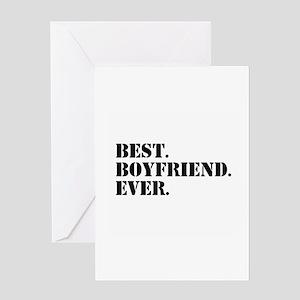 Best Boyfriend Ever Greeting Cards