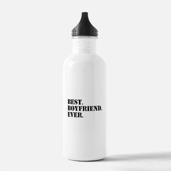 Best Boyfriend Ever Sports Water Bottle