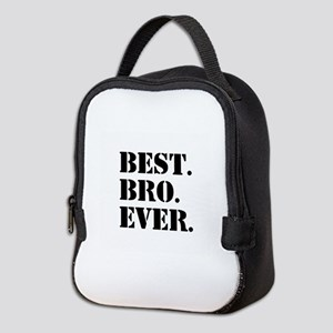 Best Bro Ever Neoprene Lunch Bag