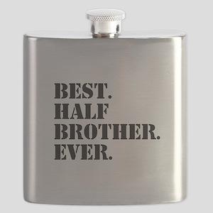 Best Half Brother Ever Flask