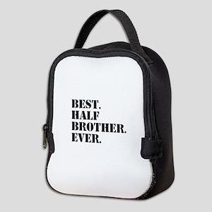 Best Half Brother Ever Neoprene Lunch Bag