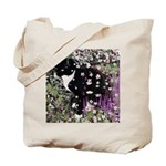 Freckles Tux Cat Flowers I Tote Bag