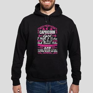 Capricorn Girl Have 3 Sides Quiet Sweet Sweatshirt