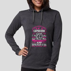Capricorn Girl Have 3 Sides Qu Long Sleeve T-Shirt