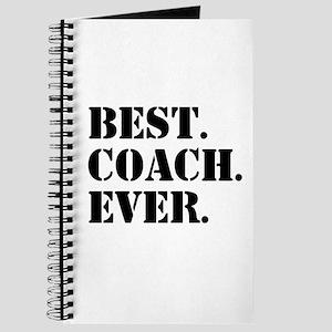 Best Coach Ever Journal