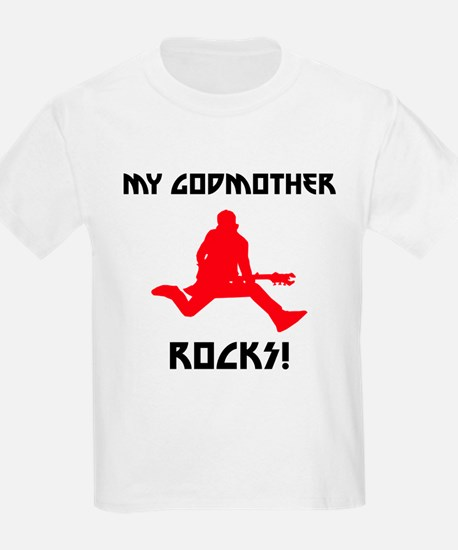My Godmother Rocks! T-Shirt