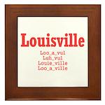 Louisville Framed Tile