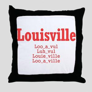 Louisville Throw Pillow