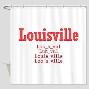 Louisville Shower Curtain