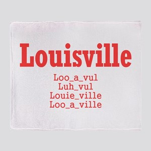 Louisville Throw Blanket