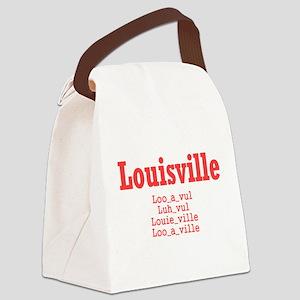 Louisville Canvas Lunch Bag