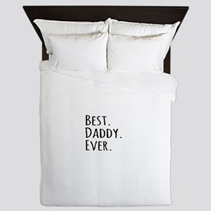 Best Daddy Ever Queen Duvet