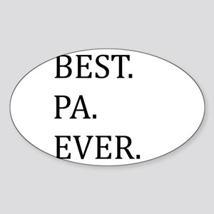Best Pa Ever Sticker