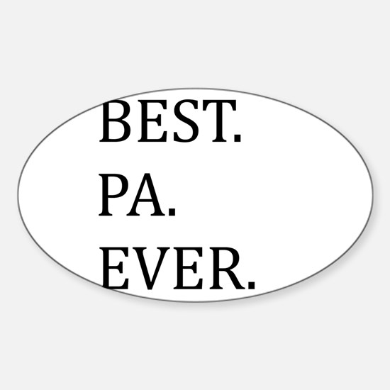 Best Pa Ever Decal