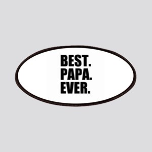 Best Papa Ever Patches